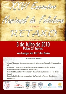 26º Encontro Nacional de Folclore de Retaxo