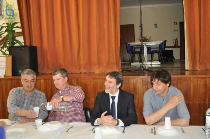 Domingos Belo, José Luís Pires, Luís Correia e Miguel Vaz
