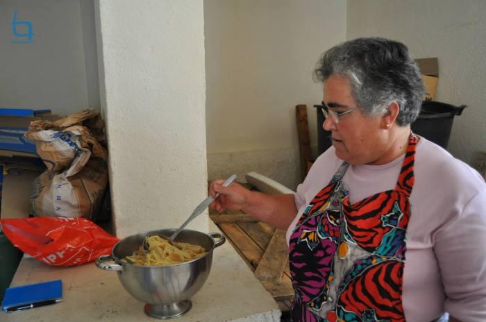 A cozinheira da Sopa da Boda (Mª Conceição Lourenço)