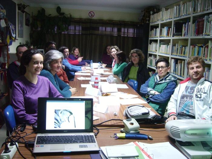 Formandos da UFCD - Cuidados da Saúde no Idoso, que decorre na sede, e é fruto da parceria Associação/Ciebi